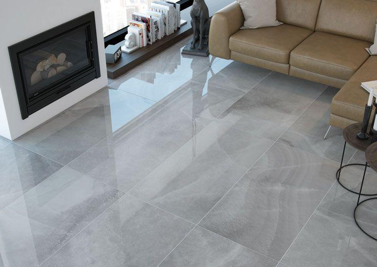 Agato Marble Look Porcelain Living Room Tiles Floor Tile Design Grey Tiles Living Room