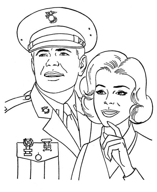 Awesome Picture Of American Soldier And Us Navy Nurse In Armed Forces Day Coloring Page Coloring Sun Coloring Pages Cool Coloring Pages Navy Nursing
