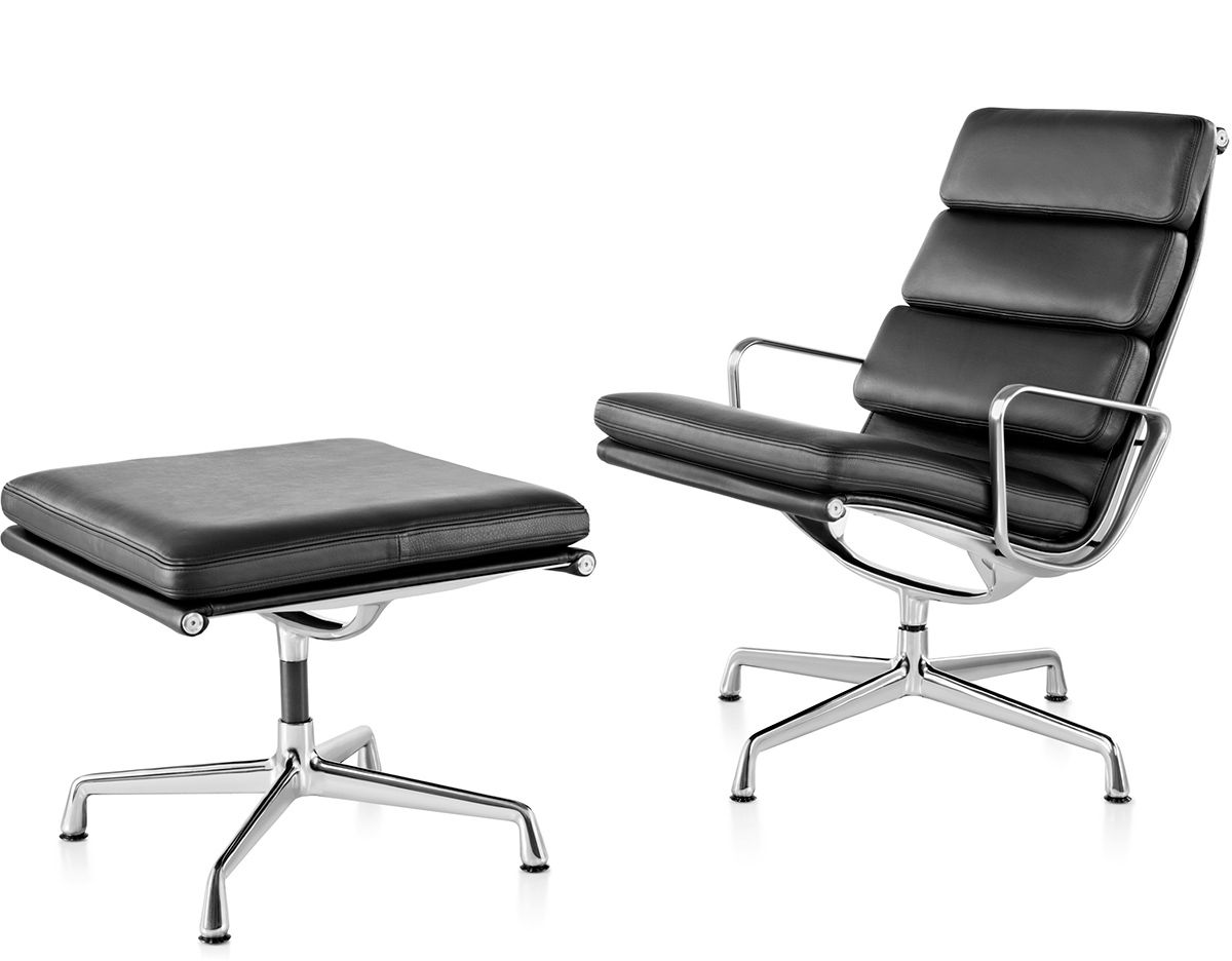 Eames Soft Pad Group Lounge Chair Ottoman 画像あり 椅子