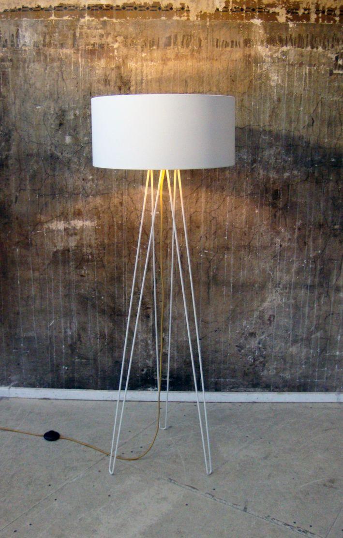 Lukkizzi Hairpin L50 Floor Lamp Offwhite Beleuchtung Cremeweiss Tischleuchte
