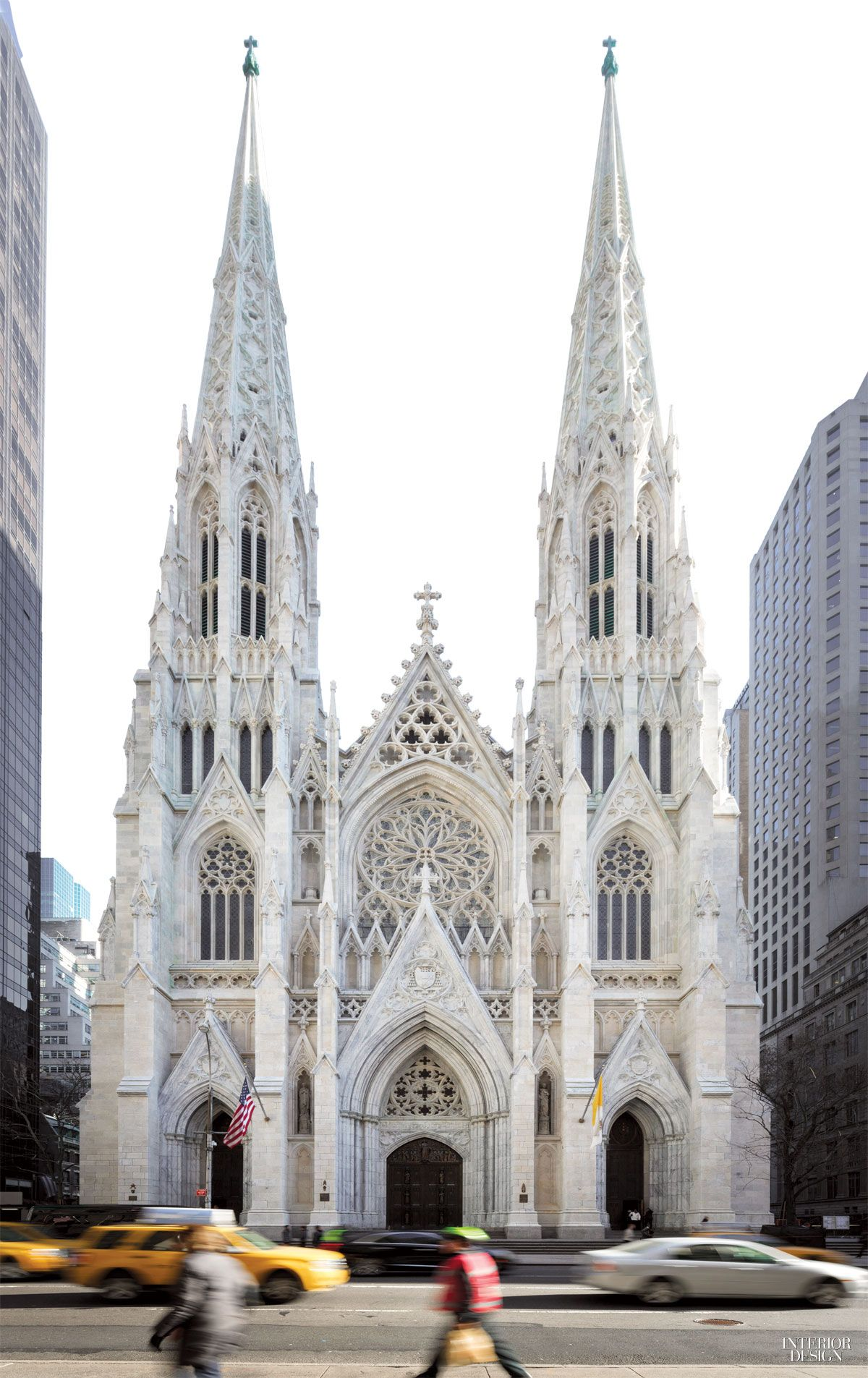 St. Patrick's Cathedral in Midtown. After three years of restoration.