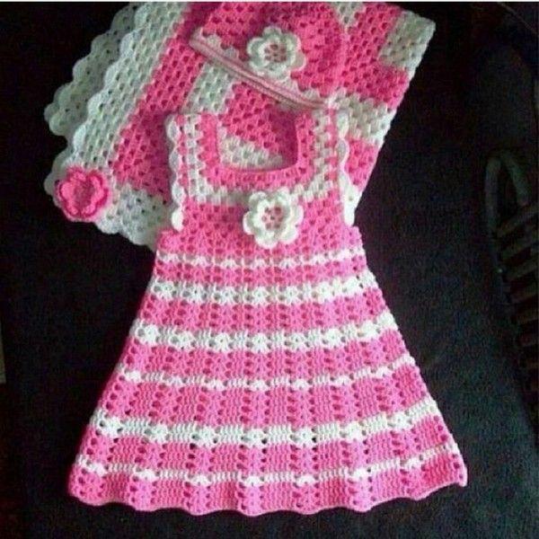 Crochet Instagrammed | Vestidos de niñas, Encaje de ganchillo y ...