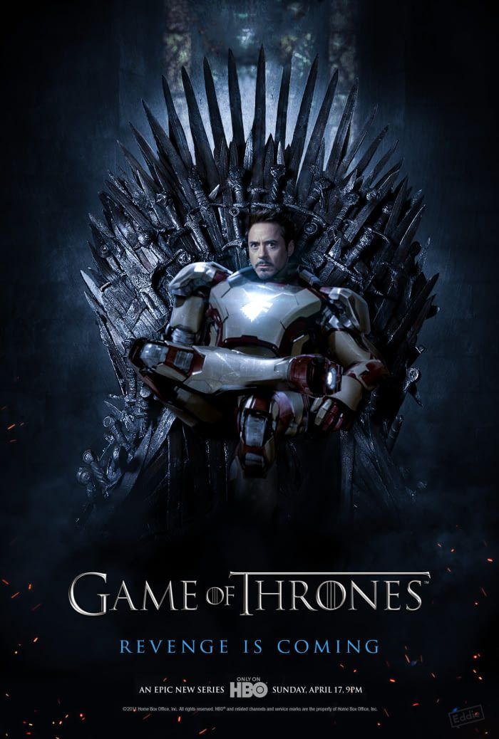 25+ Tony Stark Game Of Thrones  PNG