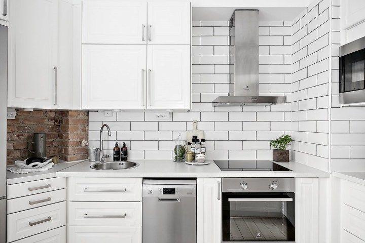 Lujo Diseños Para Cocinas Pequeñas Galera Fotos - Ideas de ...