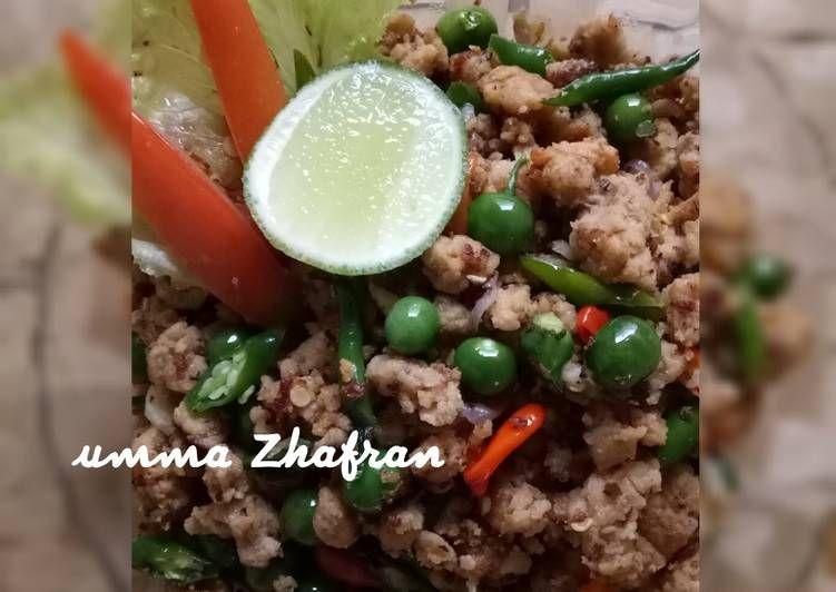 Resep Tumis Oncom Cabe Ijo Oleh Umma Zhafran Resep Tumis Masakan Resep Masakan
