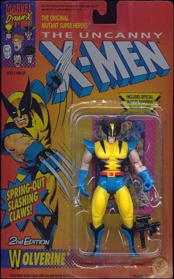 Toy Biz Wolverine Action Figure 1992 X Men 1990 S