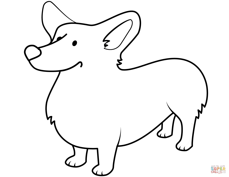 Funny Corgi Coloring Page Free Printable Coloring Pages In 2021 Dog Coloring Page Corgi Funny Corgi Drawing [ 1160 x 1500 Pixel ]