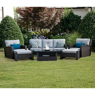 Members Mark Brooklyn 6 Piece Deep Seating Set with Premium Sunbrella Fabric - $1599