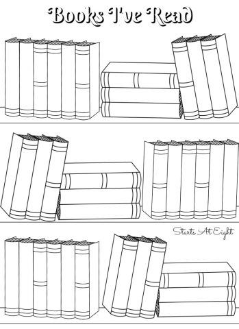 image regarding Books I've Read Printable identified as No cost Printable Reading through Logs ~ Complete Sized or Adjustable for