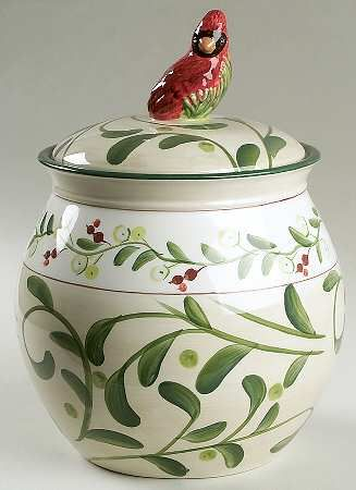 Home for the Holidays Cookie Jar by Paula Deen | Christmas or ...
