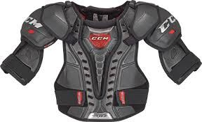 Pin By Alexis Lange On Ice Hockey Shoulder Pads Hockey Protective Gear Sport Outfits