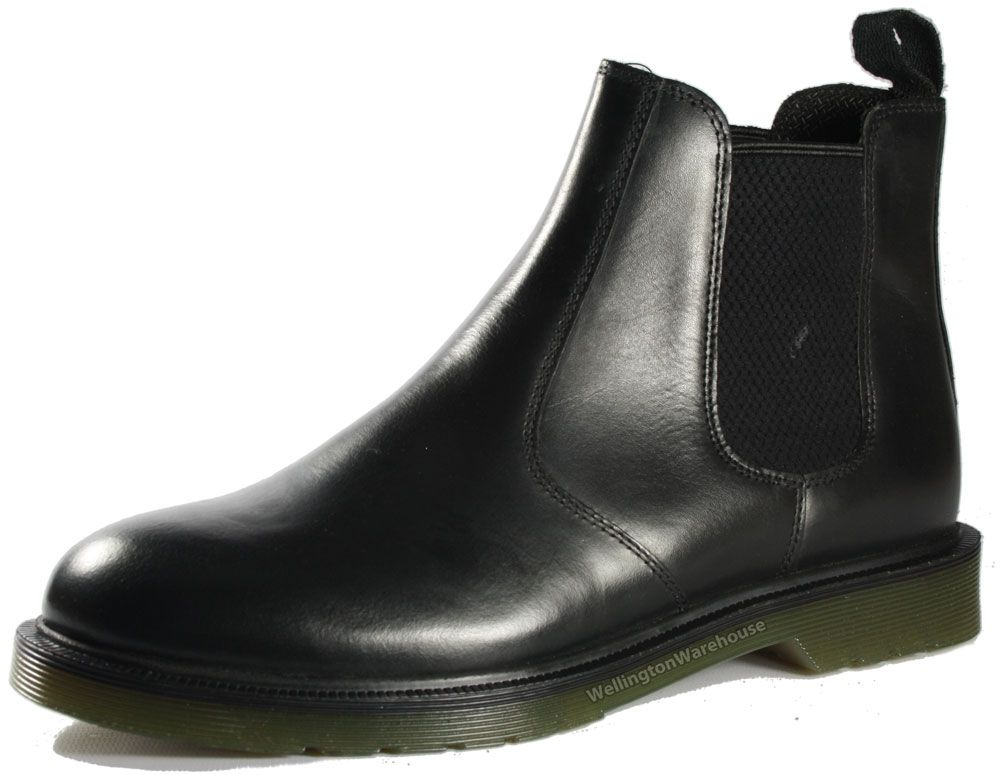 Men's Black Leather Chelsea Boots | Stuff people should buy me ...