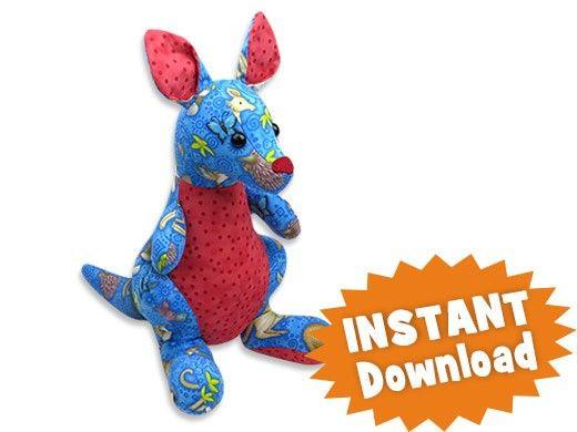 Kangaroo INSTANT DOWNLOAD Sewing Pattern PDF   sewing patterns ...