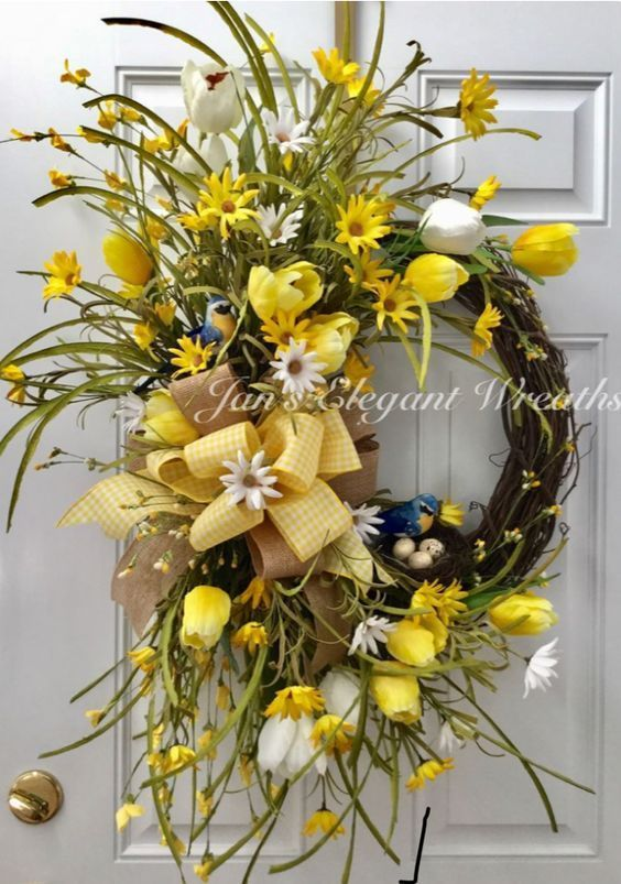 Photo of 33 Spring wreaths for front door DIY ideas to celebrate the Change! – Hike n Dip…