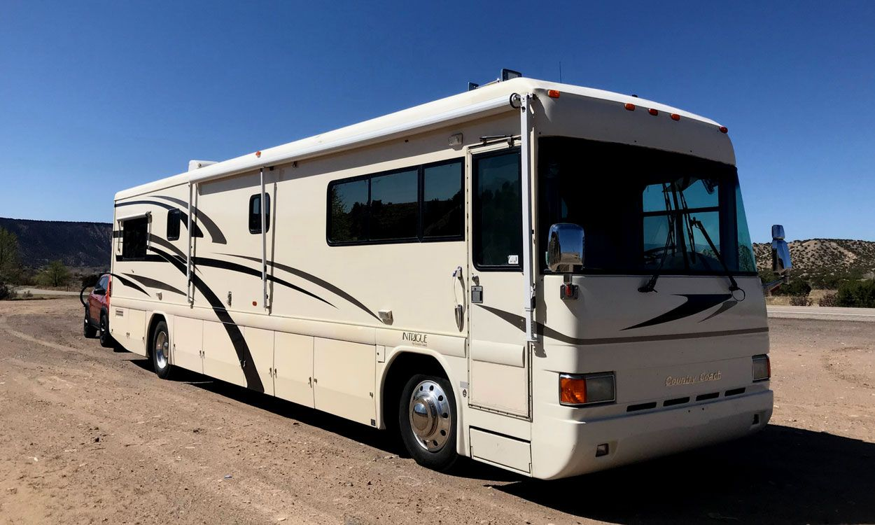 First Tour Introducing Our New Rv Cc 1999 Country Coach Intrigue Rv Makeover Rv Motorhome