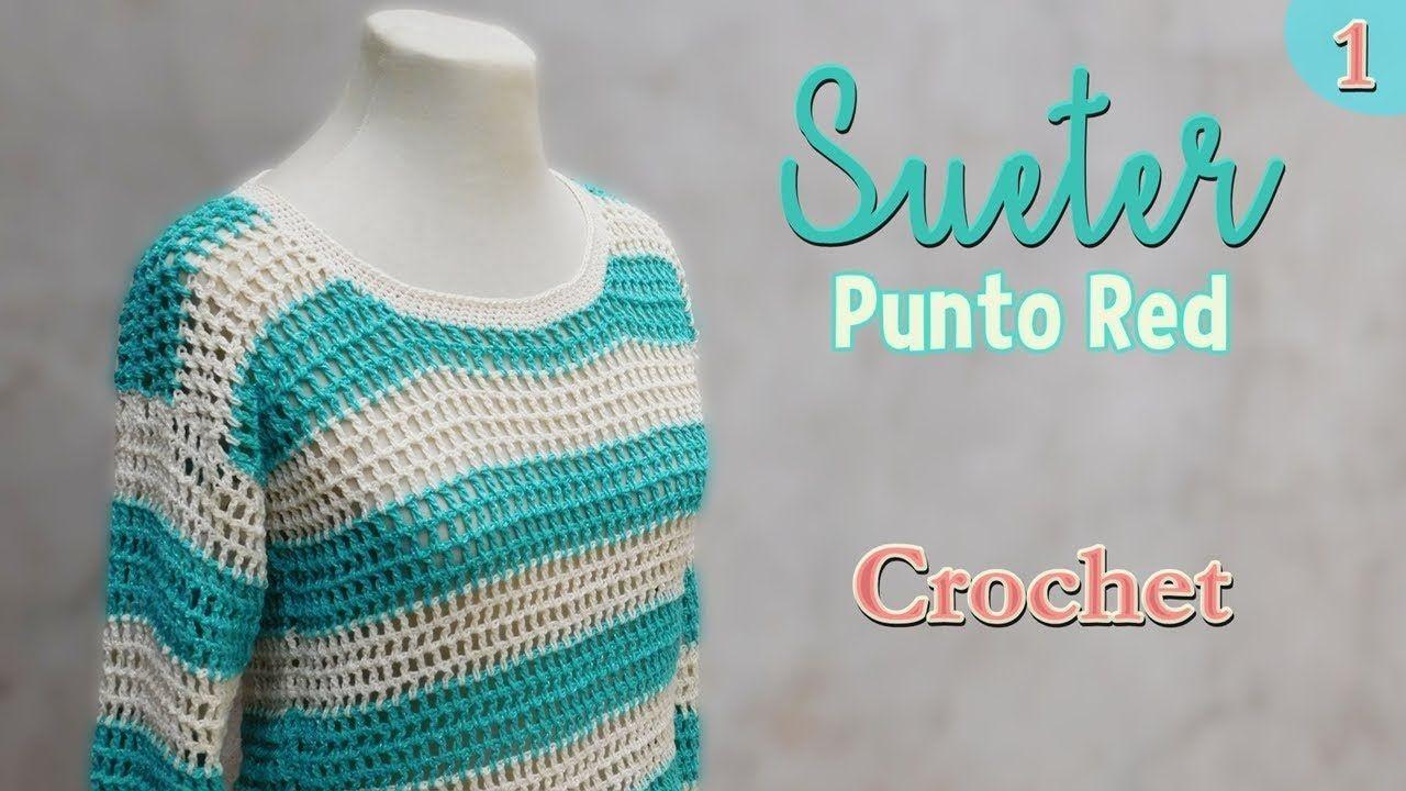 Como Aprender A Tejer Crochet Para Principiantes Como Tejer Un Sueter A Crochet Para Principiantes 1 2 Con