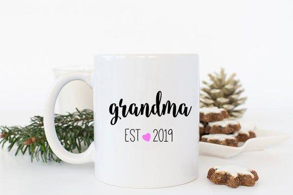 Personalized Grandma Mug, Grandma Gift, Personalized Grandma Mug, Custom Mug for Grandma to Be, New #custommugs