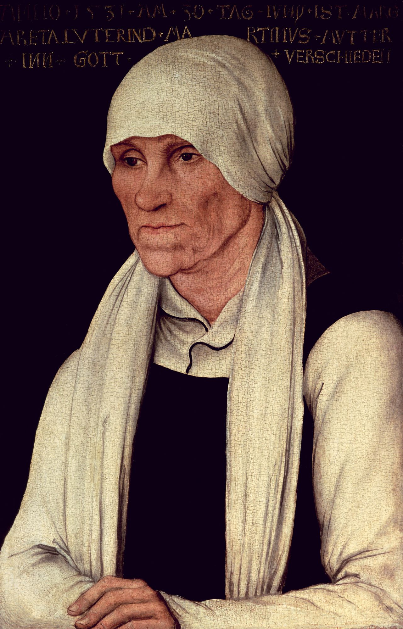 Margarethe Luther (c.1463-1531), mother of Martin Luther by Lucas Cranach the Elder