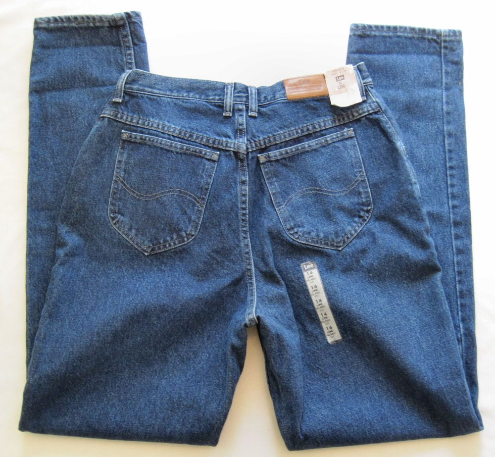 New Lee Riders Dark Stone Blue Jeans Relaxed Fit Size 14L NWT  #RIDERS #Relaxed