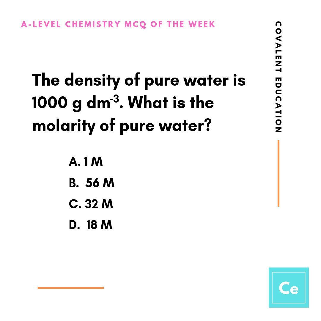 "A Level Chemistry Resources on Instagram: ""This week's"