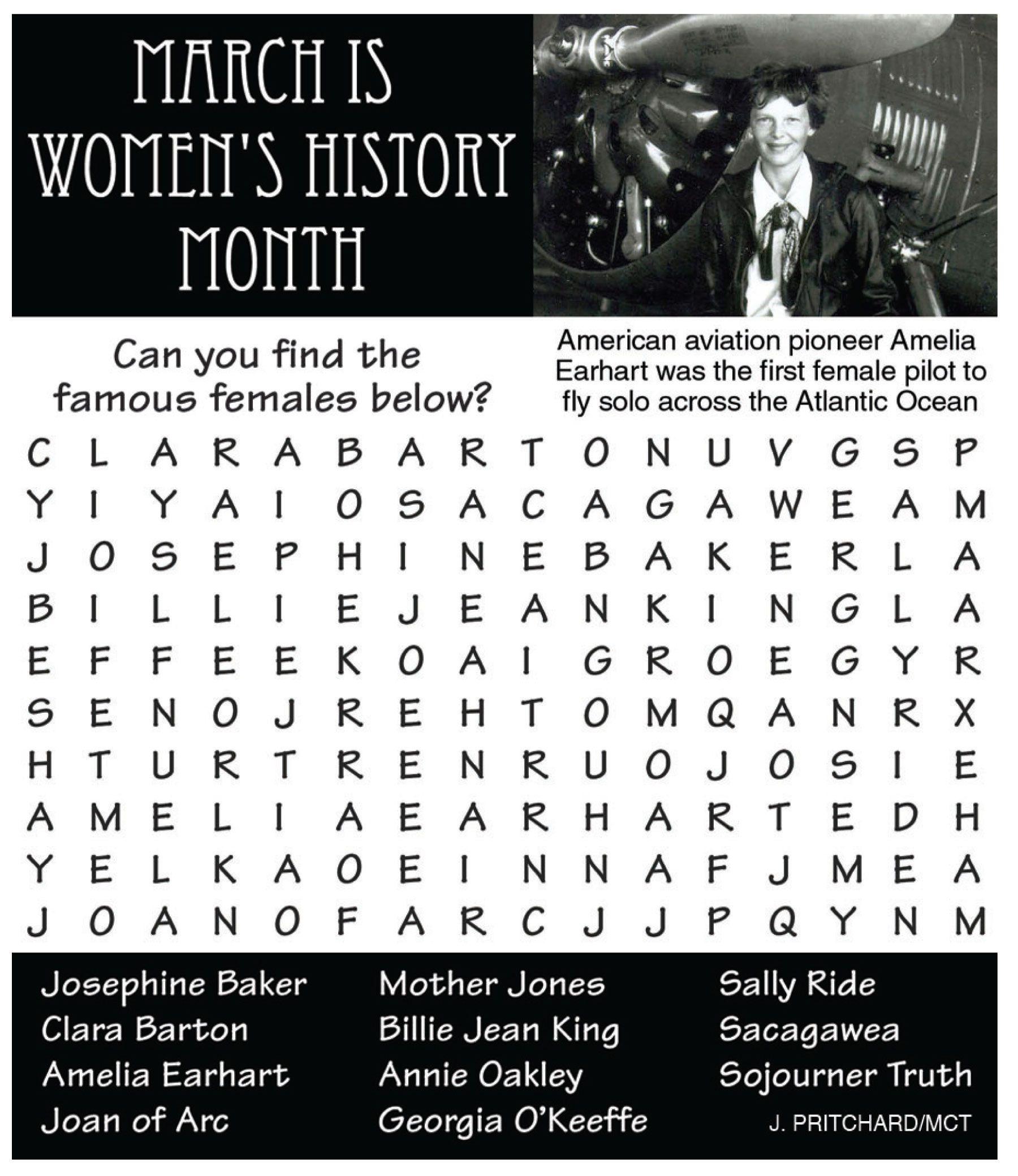 History Word, Womens History
