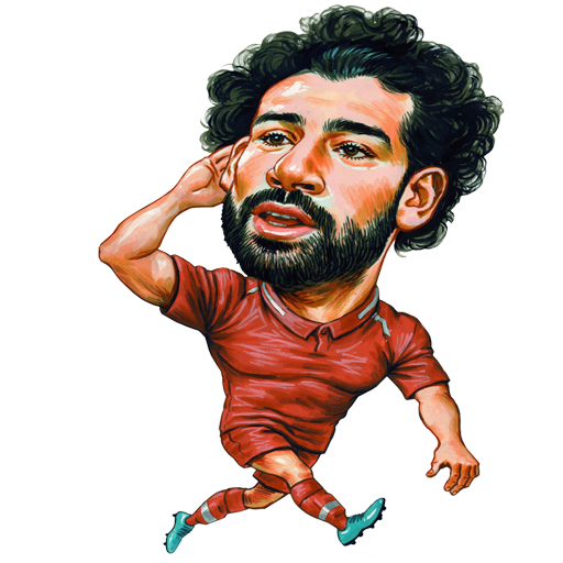 Pin by otman or on Salah stickers Mohamed salah