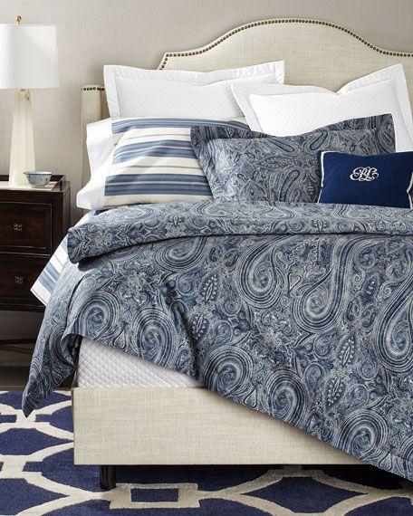 Ralph Lauren Home King Allister Duvet Cover Bed Linens Luxury Ralph Lauren Home Ralph Lauren Bedding