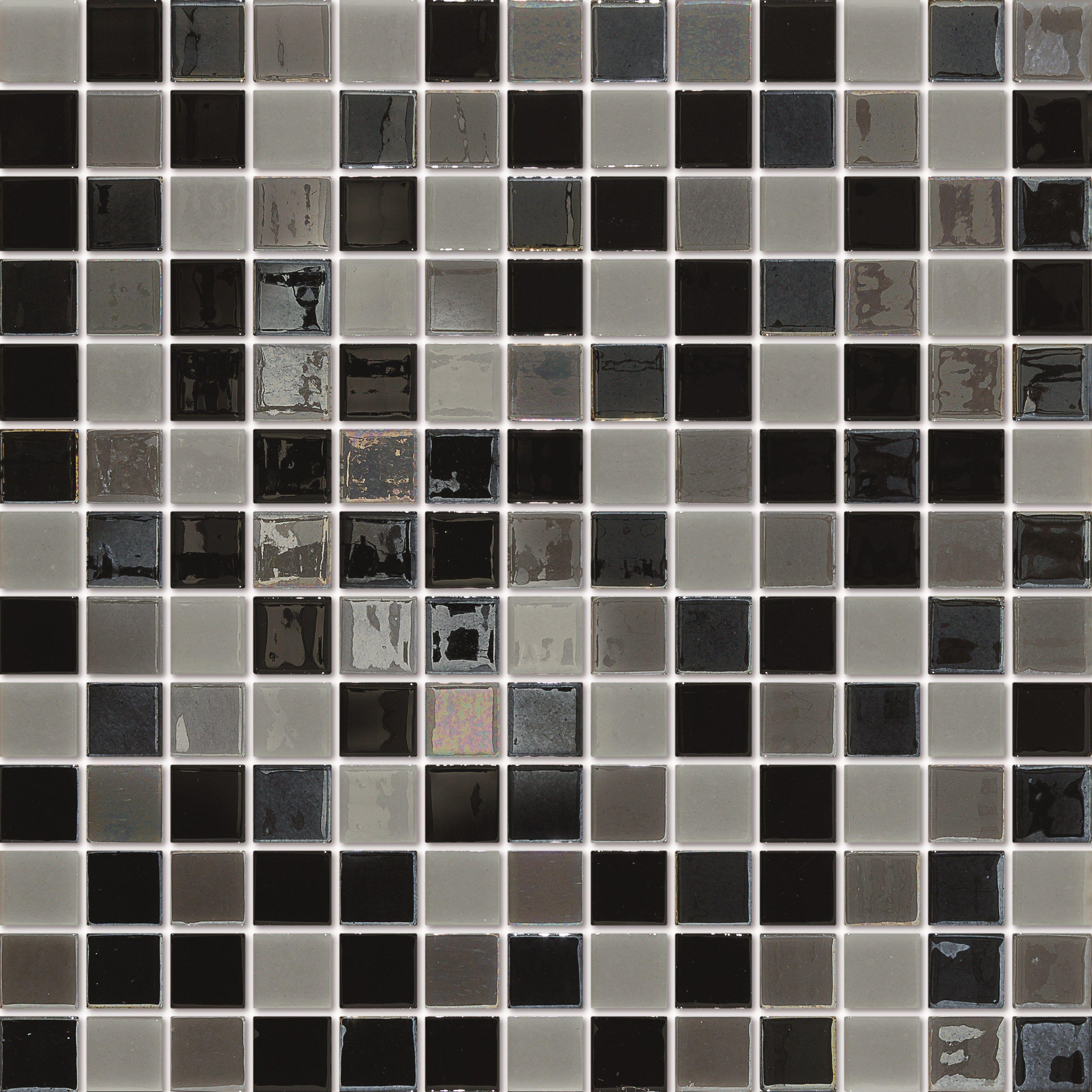 Mosaique Piscine Gris Et Noir Emaux De Verre Togama Manhattan