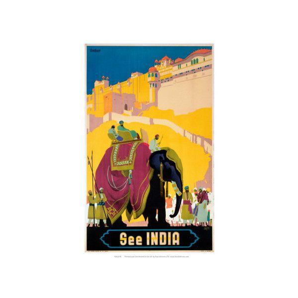 Art.com Indian State Railways: See India Wall Art Print ($20 ...