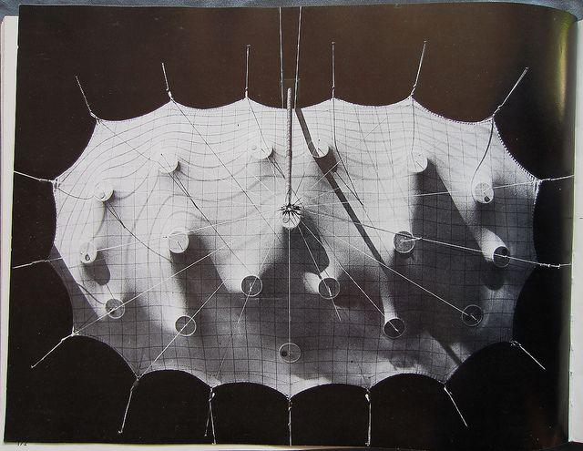 Frei Otto Il 5 Fabric Structure Architecture Model Membrane Structure