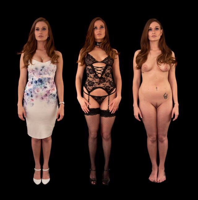 women dressed undressed and Plus size