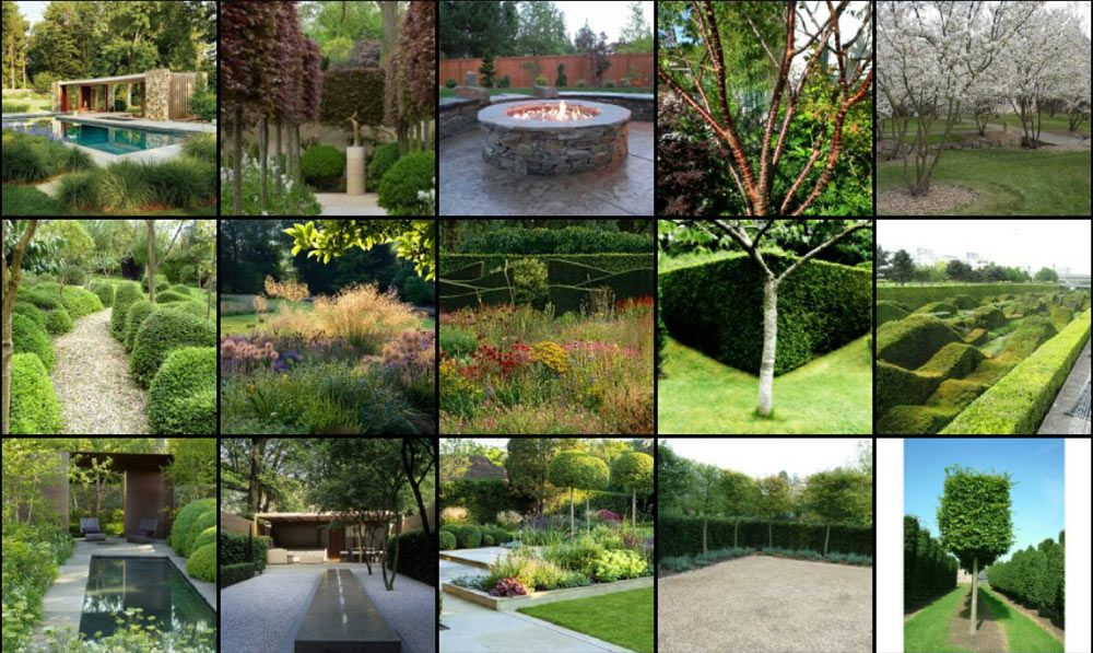Mood Board For This Project Garden Design Pinterest