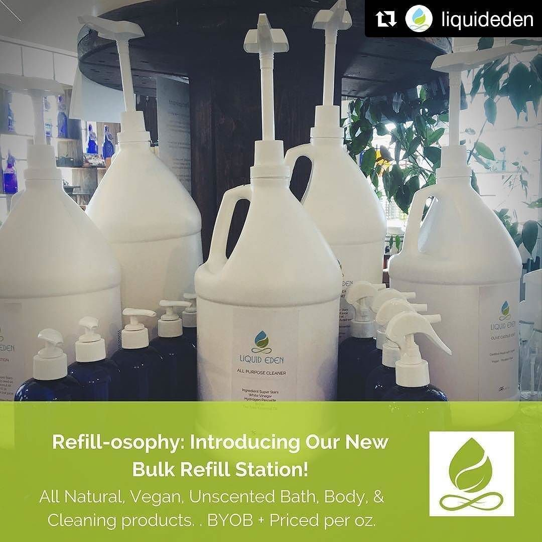 Makes My Heart Sing When I See More Refill Stores Opening Up Reducing Our Single Use Plastic Waste Is Important Thank You Liquideden Get Repost Refill Vrac