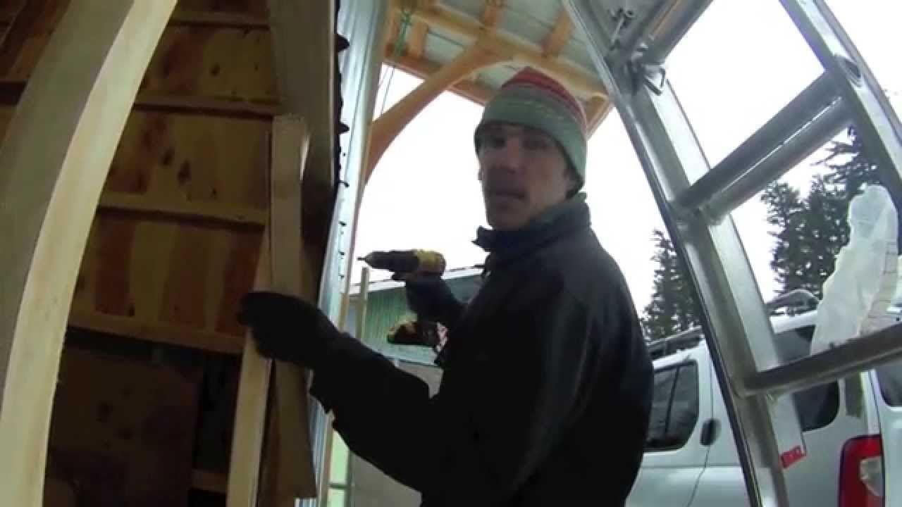 Youtube Diy Garage Door Garage Doors Diy Door