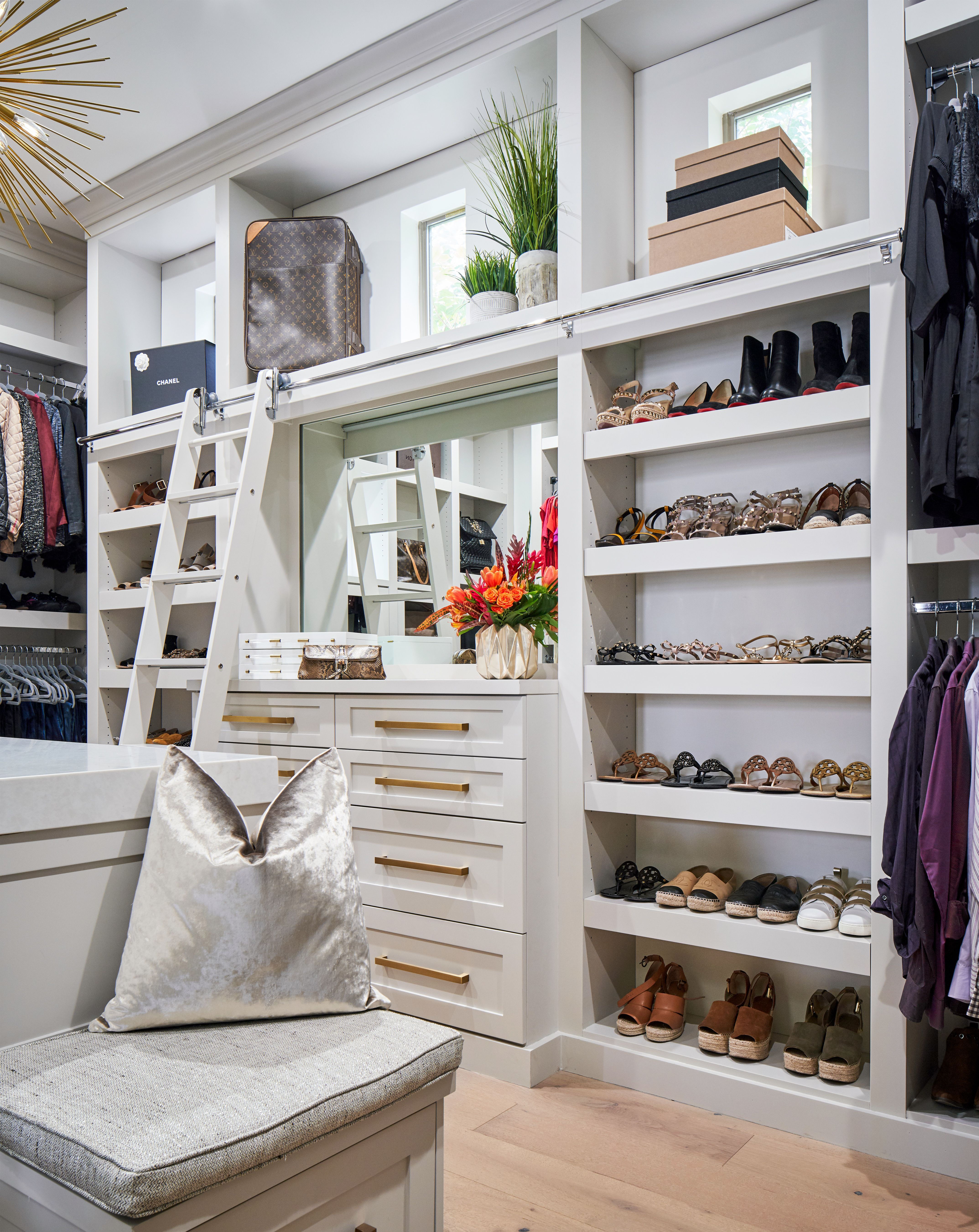 This Walk In Master Closet Was Part Of A Whole House Remodel By