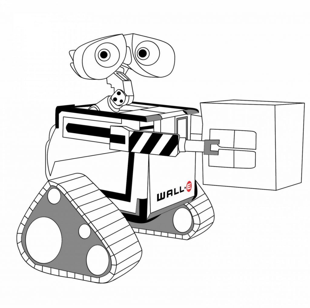 Wall E Coloring Pages Best Coloring Pages For Kids Wall E Coloring Pages Coloring Pages For Kids