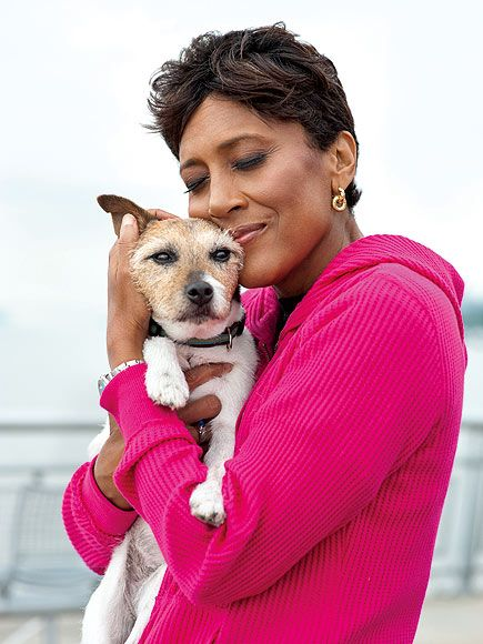 """ROBIN ROBERTS  """"Can't imagine my life without you and I don't wanna!""""  – The on-the-mend Good Morning Americaanchor, on dog KJ  www.ALetterToMyDog.com"""