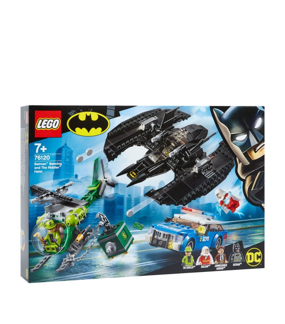 Lego Batman DC Batwing and The Riddler Heist AD ,