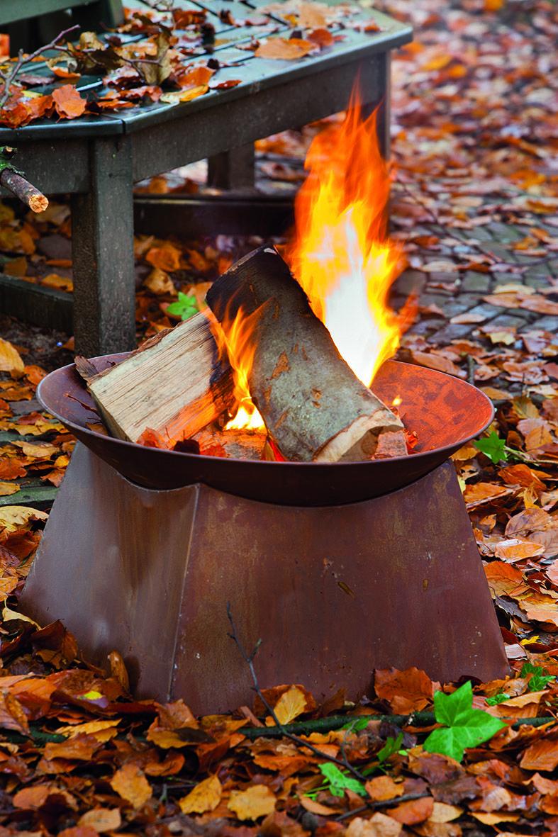 Esschert Design Ff149 Rust Firebowl Fire Bowls Fire Pit Wood Burning Fire Pit