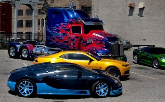Transformer 4 bugatti