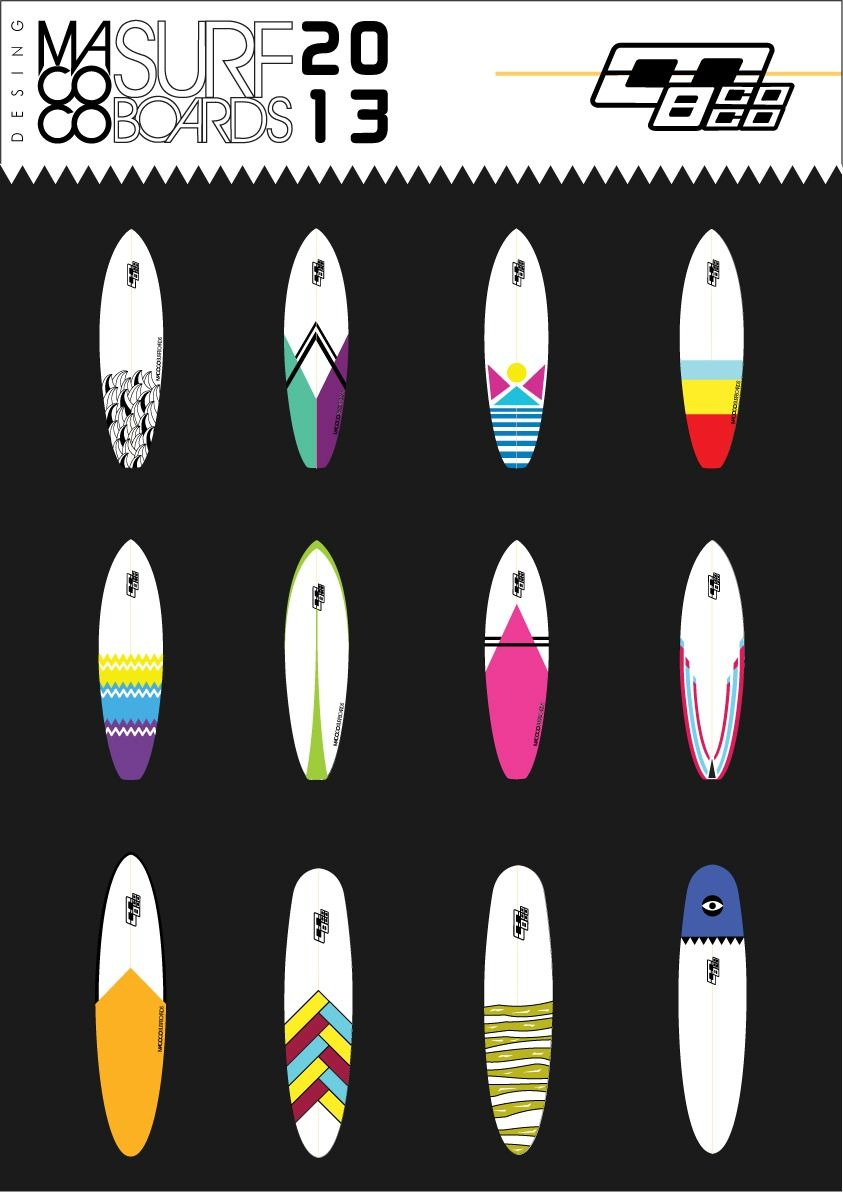 Tablas De Surf, Funboard 7\'8, Macoco Surfboards Nueva Stock | Tabla ...