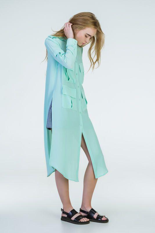 6bf214e3d0d Särk-kleit münt   Moekunst   Duster coat, Coat, Jackets