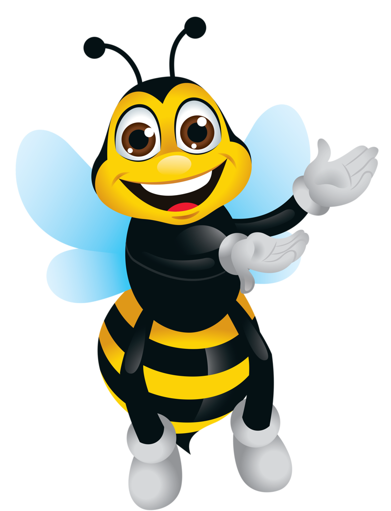 Cartoon Bee Stock Illustrations 4447