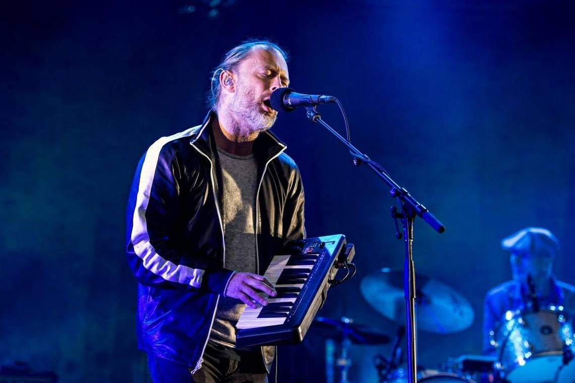 Thom Yorke - #Radiohead Sprint Center on March 11, 2012 in