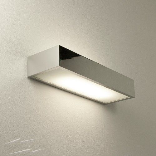Bathroom Lights Up Or Down tallin 300 over mirror bathroom wall light up-and-down 18w ip44 in
