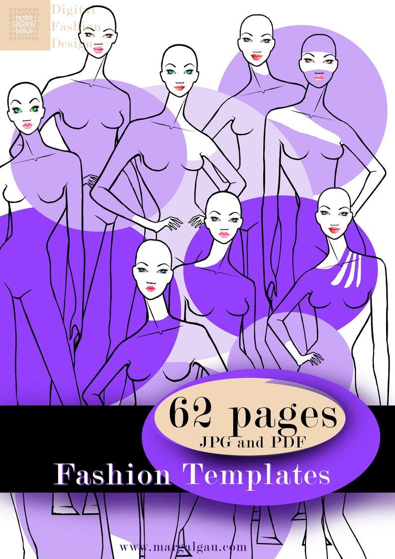 Pin By Margalgau On Fashion Templates