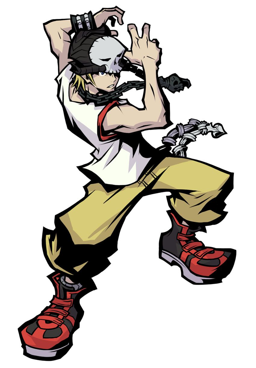 Beat From The World Ends With You Final Remix Concept Art Characters End Of The World Art