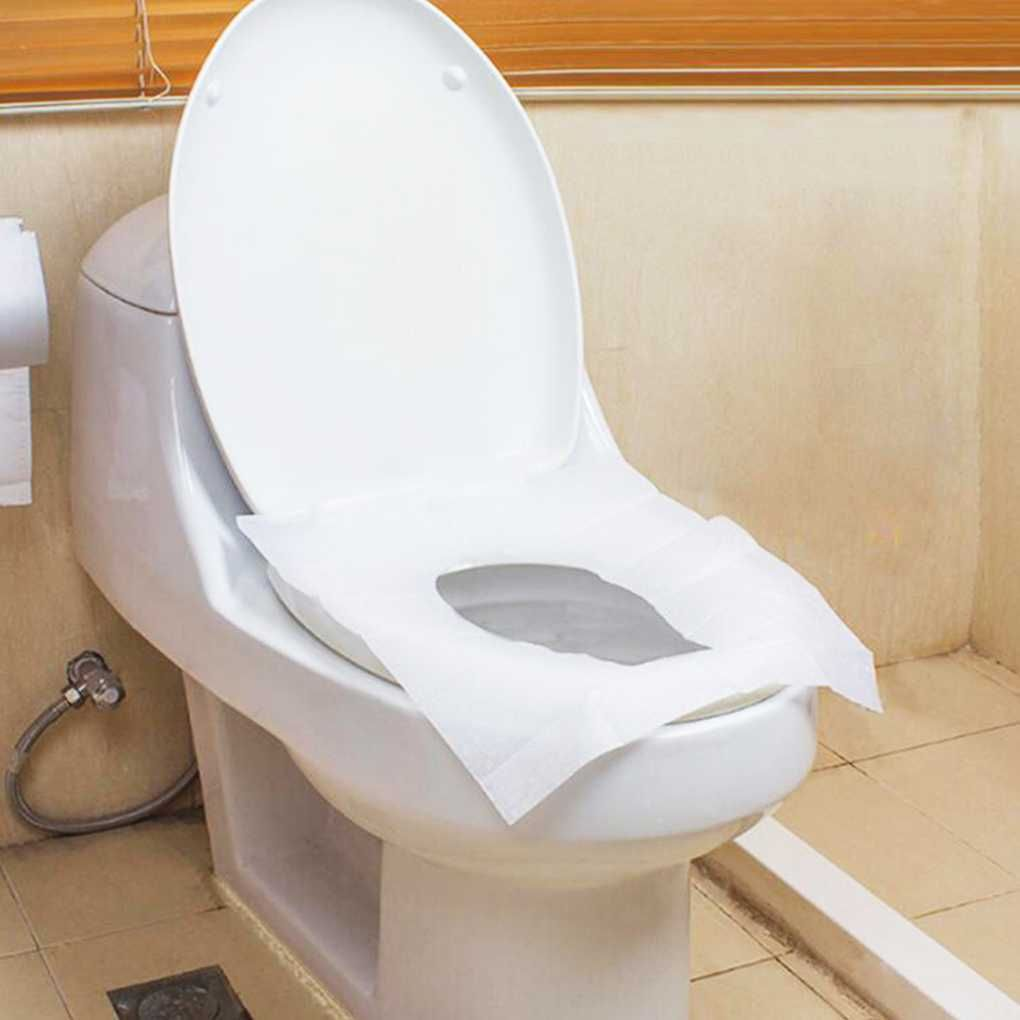 Pleasing 1 0Aud Disposable Bathroom Waterproof Toilet Closetool Machost Co Dining Chair Design Ideas Machostcouk