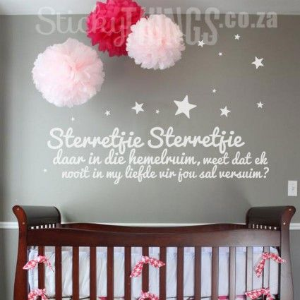 Sterretjie Baba Muur Plakker Teddy Beer Wall Stickers