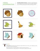 Compare And Contrast Worksheets School Sparks Visual Discrimination Worksheets Visual Learning Free Kindergarten Worksheets